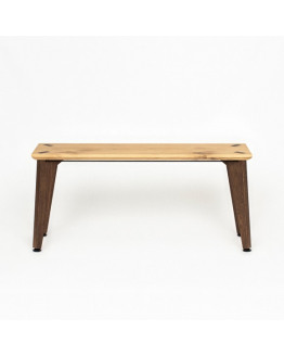 RANK BENCH Oak/Fumed Oak