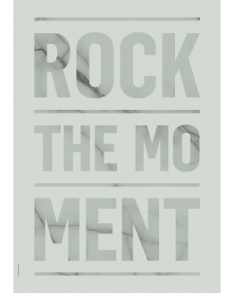 ROCK THE MOMENT Green A3