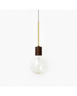 RR-1 PENDEL Stained Oak/Brass
