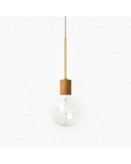 RR-1 PENDEL Oak/Brass