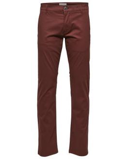SLHStraight-Paris B.Choco Pants W NOOS