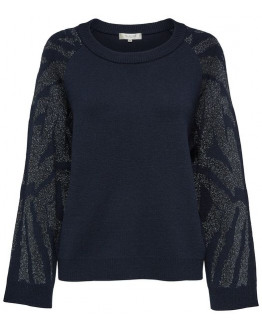 SFLYRI LS KNIT O-NECK