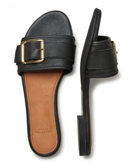 SFFia Leather Slider