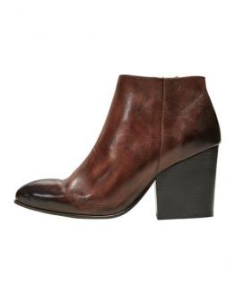 SLFAmber Zip Leather Boot