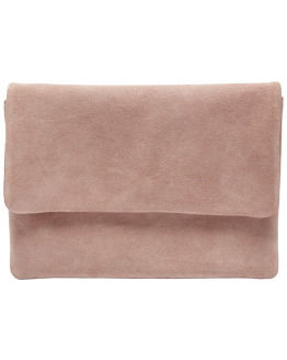 SFCarly suede clutch