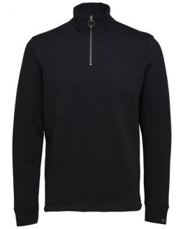 SLHROB HIGH NECK ZIP SWEAT W