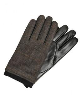 SLHJohn Leather Wool Glove