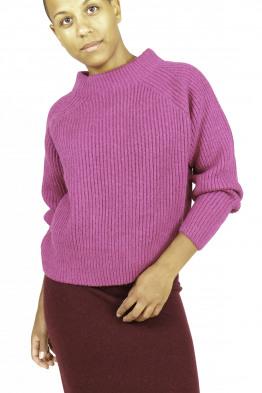 Loose merino wool sweater