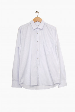 pomandère striped shirt