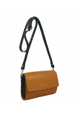 Tumbled shoulder bag