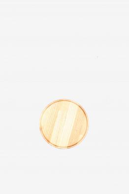 hasami oak tray/lid small