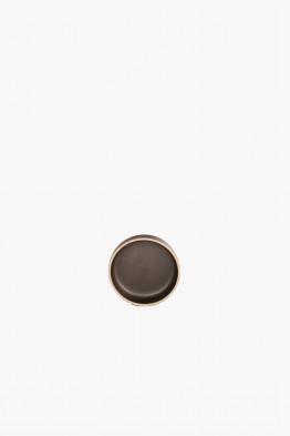 hasami black plate x-small/lid