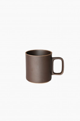 hasami black mug medium