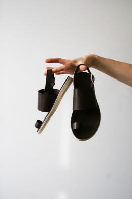 a.p.c rome sandals