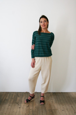 lauren manoogian cropped pants