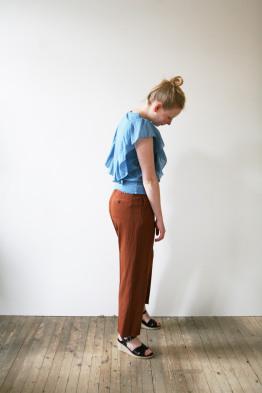 leon&harper tabata silk t-shirt