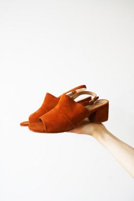 No.6 layla covered heel turmeric