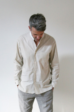 still by hand stripe shirt