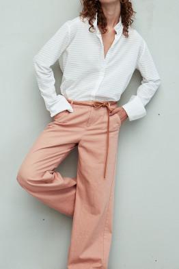 overzised buttondown blouse