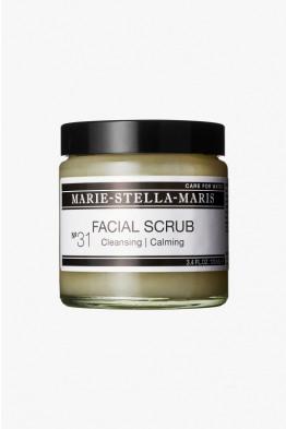 msm nourishing facial scrub