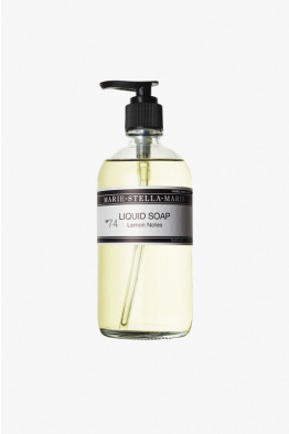 msm liquid soap lemon notes
