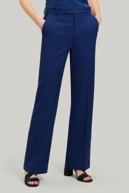 comfort wool trousers