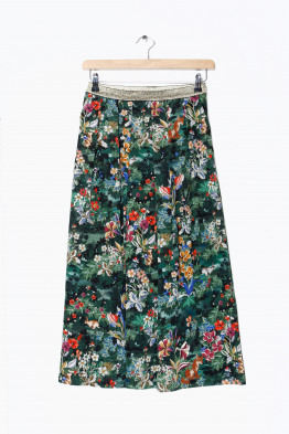 momoni silk skirt