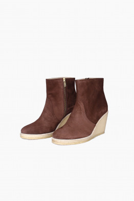 a.p.c. wedge booties