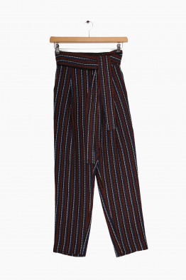 apiece apart print trousers