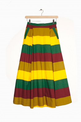 aspesi multicolour skirt