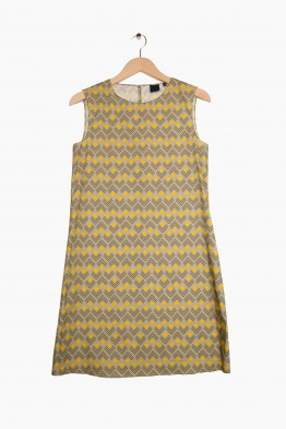 aspesi a-line cotton dress