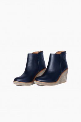 anthology paris wedge booties