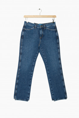 m.i.h straight stretch jeans unwash