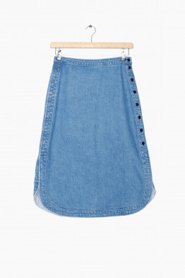 vanessa seward denim skirt