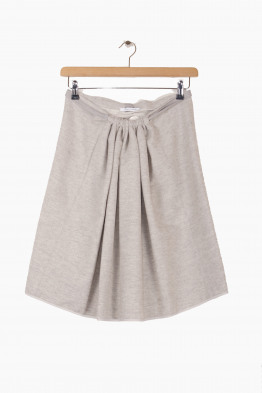 humanoid atelier felted cotton skirt