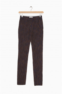 humanoid textured cotton trousers