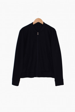 harris wharf london merino bomber