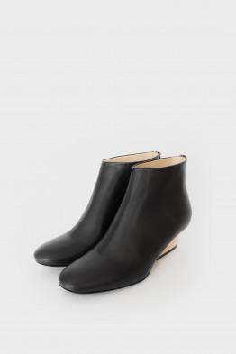 bootie natural heel