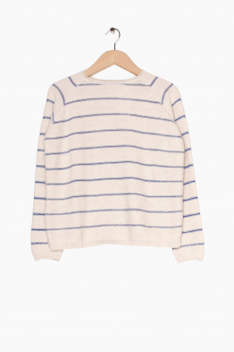 aiayu striped knit