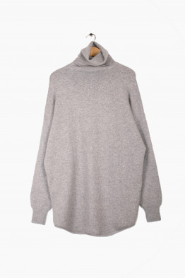 extreme cashmere roll neck