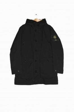stone island real down coat