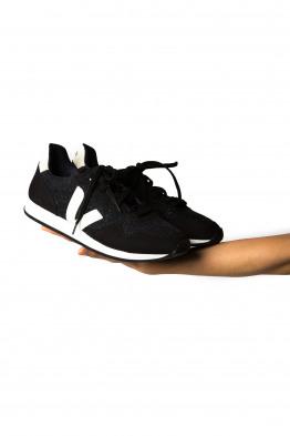 flannel sneaker