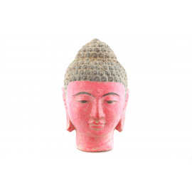 Indian Woman Buddha Head M Stone