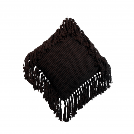 Cushion Macrame Boho Fringes 40x40