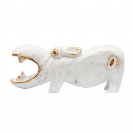 Hippo Nijlpaard White-Gold