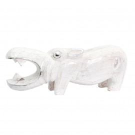 Hippo Nijlpaard White-Silver