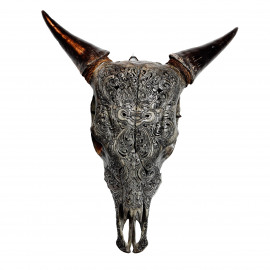 Cow Barong Dark Grey