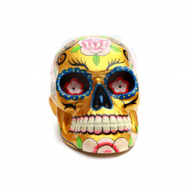 Mexican Sugar Skull - Gold