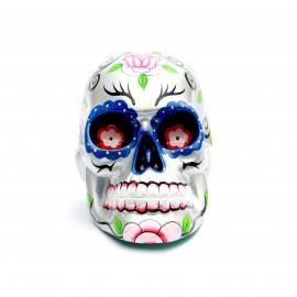 Mexican Sugar Skull - Silver