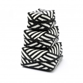 Offermand Laag -  Striped - Set/3